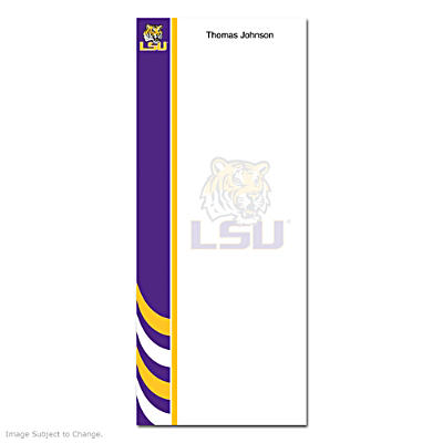 Louisiana State University List Note Pads