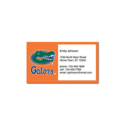 University of Florida Social Calling Cards