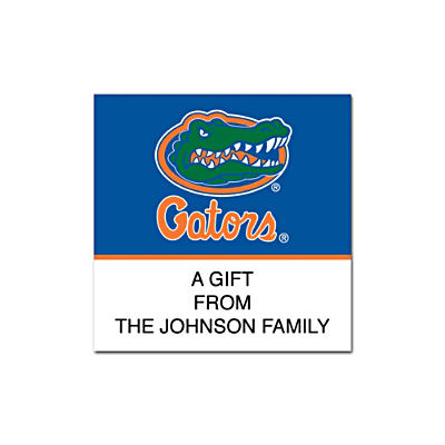 University of Florida Square Labels