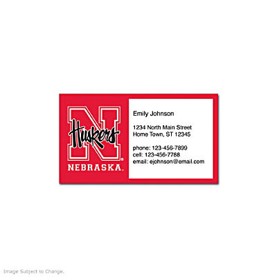 University of Nebraska Social Calling Cards