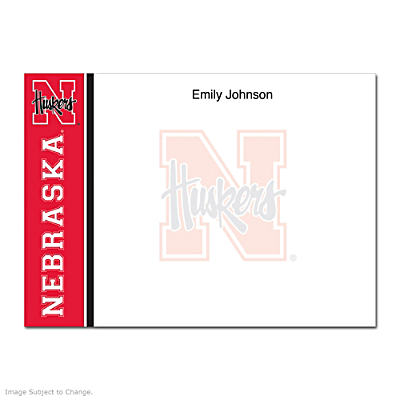University of Nebraska Flat Note Cards