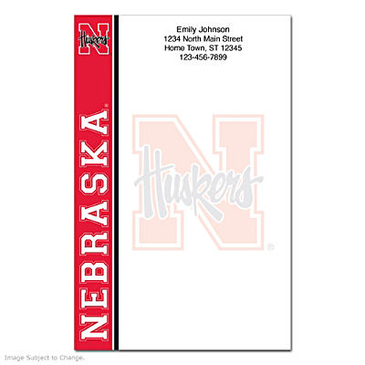 University of Nebraska Large Note Pads