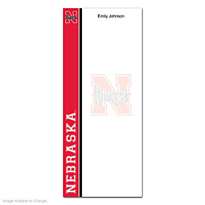 University of Nebraska List Note Pads