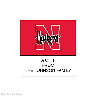 University of Nebraska Square Labels