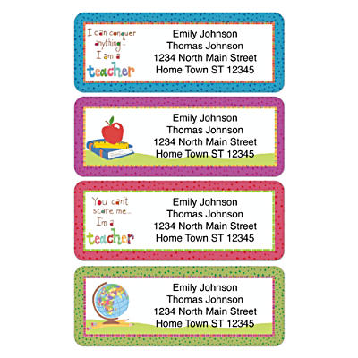 Teachers Rule! Address Labels