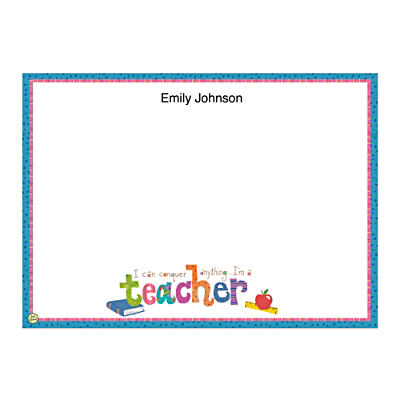 Teachers Rule! Flat Note Cards