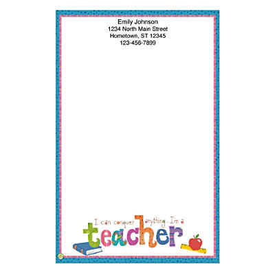 Teachers Rule! Large Note Pads
