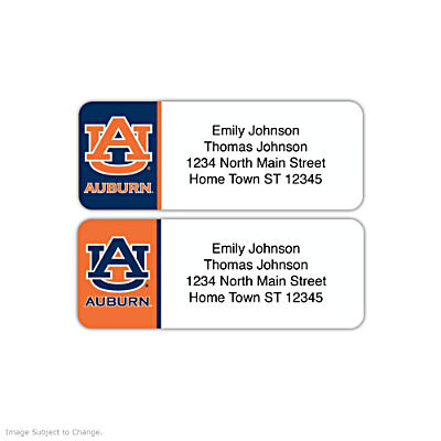 Auburn University Address Labels