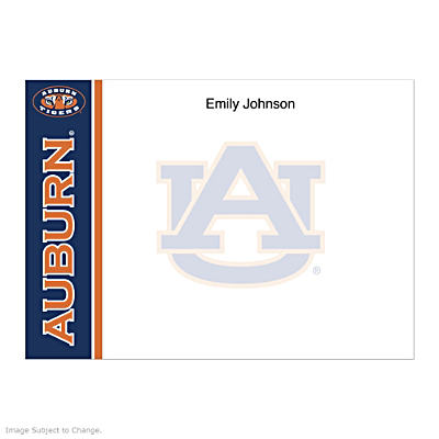 Auburn University Flat Note Cards