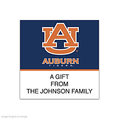 Auburn University Square Labels