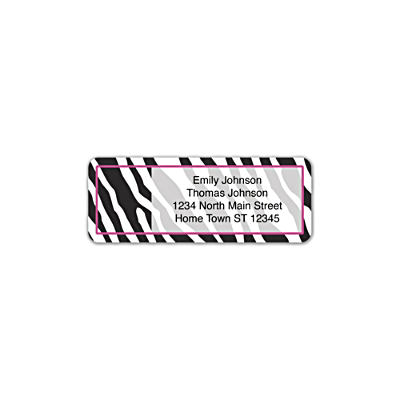 Fashion Safari Address Labels