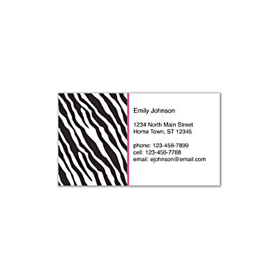 Fashion Safari Social Calling Cards