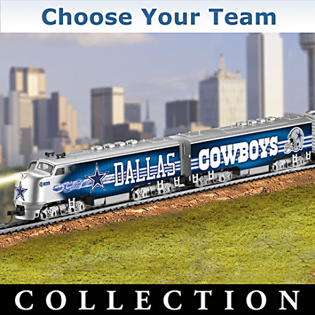 """Choose Your Team"" NFL Illuminated Electric Train"