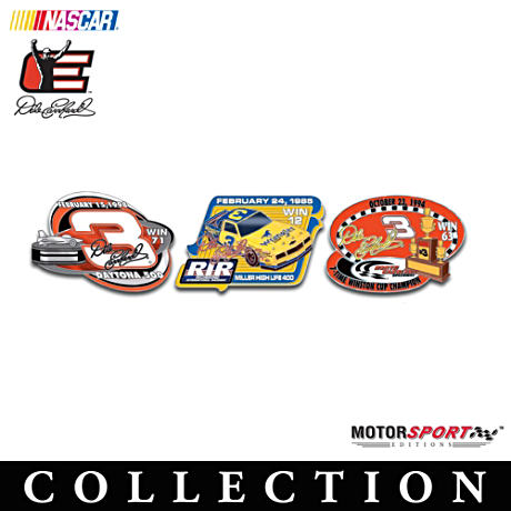"Dale Earnhardt ""Great Victories"" Pin Collection"