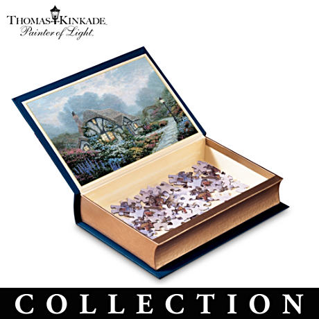 Thomas Kinkade Library Of Fine Art Puzzle Collection