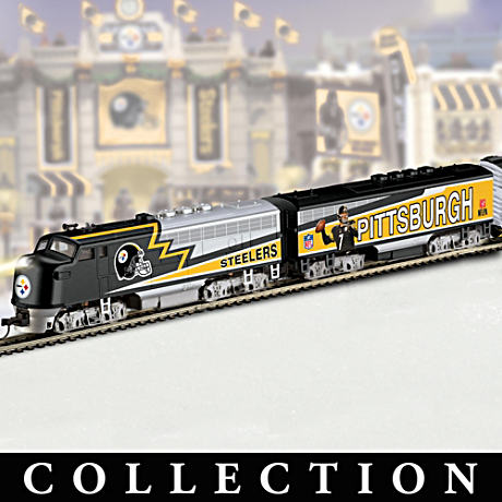 "Pittsburgh Steelers ""Super Bowl Express"" Train Collection"