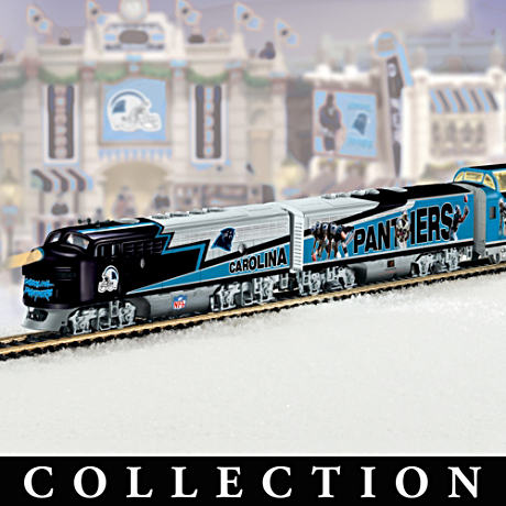 """Carolina Panthers Express"" Illuminated Train Collection"