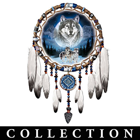 """Spirits Of The Pack"" Wolf Art Wall Décor Collection"