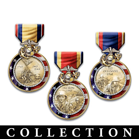 Medals Of Valor Wall Decor Collection