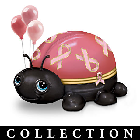 Love Bugs Music Box Collection Supports Breast Cancer