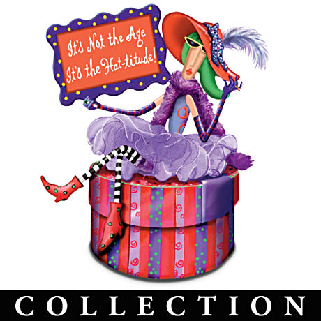 Dolly Mama's Hat-titude Music Box Collection