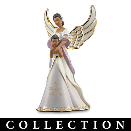 Mother-Daughter African-American Musical Figurine Collection