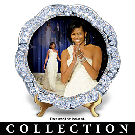 """The First Lady Of Fashion"" Porcelain Plate Collection"
