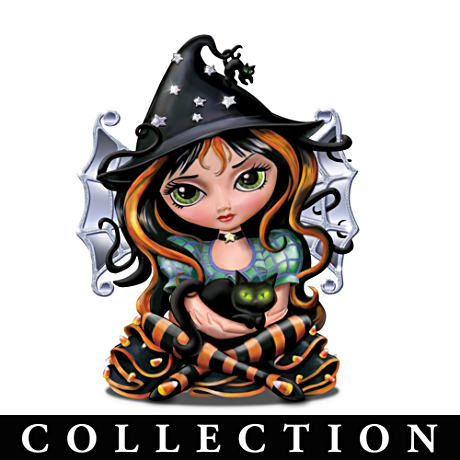 Jasmine Becket-Griffith Halloween Figurine Collection
