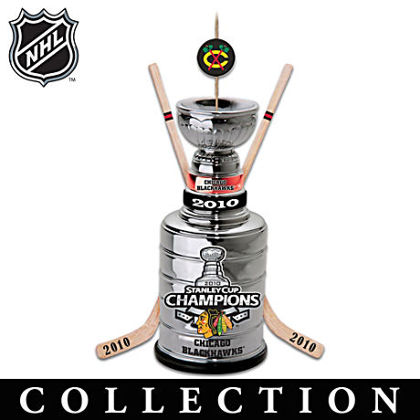 Chicago Blackhawks® Stanley Cup® Ornament Collection