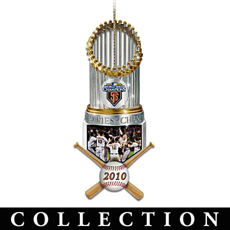 Giants World Series Champions Christmas Ornaments