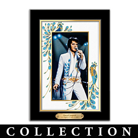 Elvis Presley Canvas Prints With Bruce Emmett Imagery