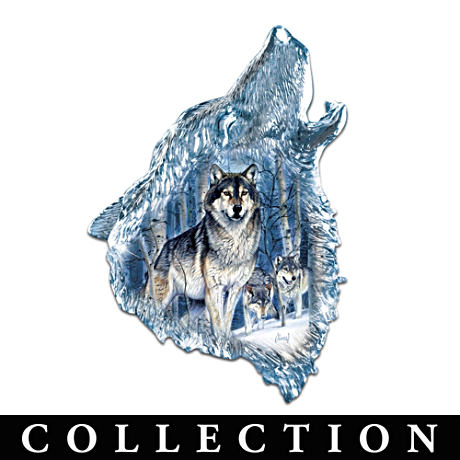Buy Wolf Wall Sculptures With Al Agnew Imagery