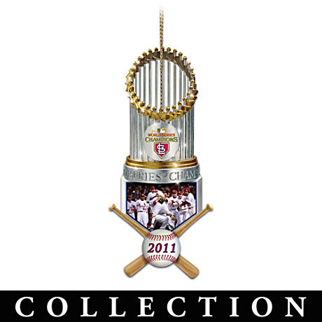 St. Louis Cardinals World Series Champions Ornaments