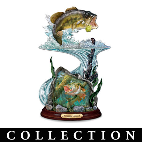 Largemouth Bass Sculpture Collection With Mark Susinno Art
