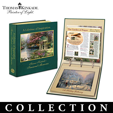 Thomas Kinkade Print Collection With FREE Display Portfolio