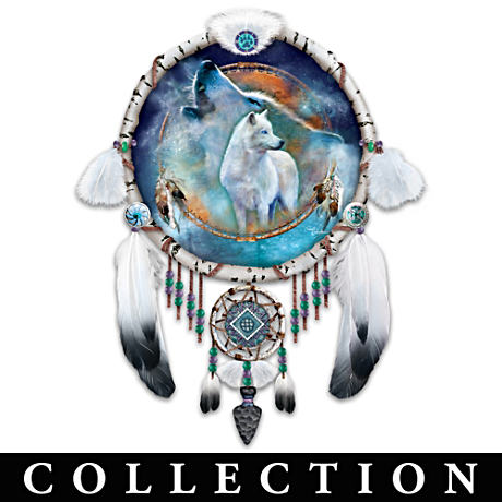 """Visions Of The Spirits"" Dreamcatcher Collector Plates"
