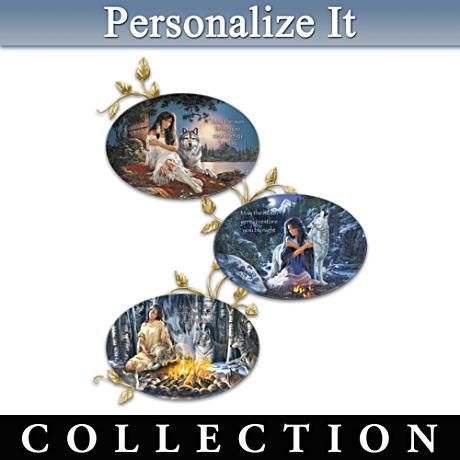 Russ Docken Spiritual Art Personalized Plate Collection