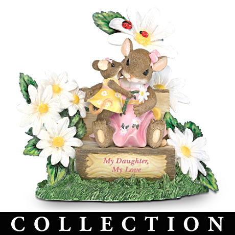 """My Precious Daughter"" Charming Tails Figurines"