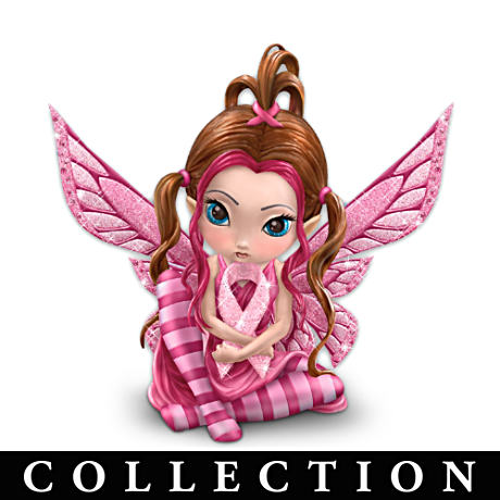 Jasmine Becket-Griffith Breast Cancer Support Fairy Collection