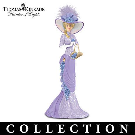 Kinkade Alzheimer's Support Victorian Figurine Collection