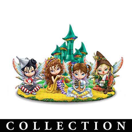 "Jasmine Becket-Griffith ""Fairies Of Oz"" Figurines"
