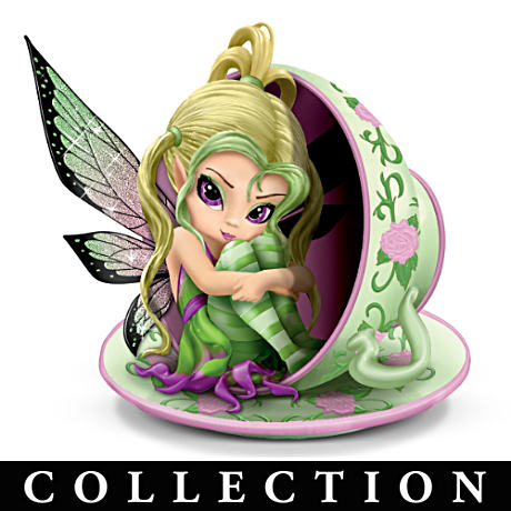 "Jasmine Becket-Griffith Limited-Edition ""Teacup Fairies"""