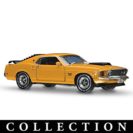 Historical Precision-Detailed Ford Diecast Cars