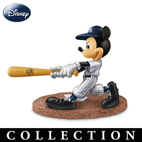 Yankees All-Star Line-Up With Disney Characters Figurines