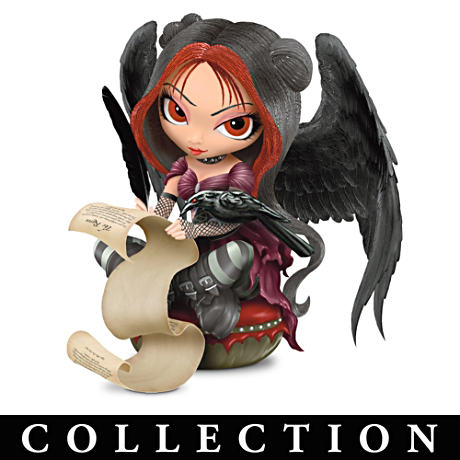 Jasmine Becket-Griffith Gothic Fairy Raven Figurines
