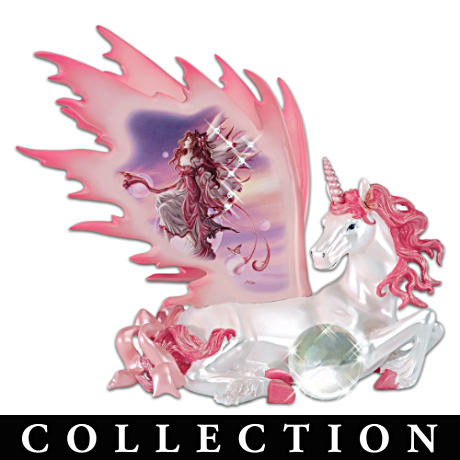 Nene Thomas Fairy Art Unicorn Figurine Collection