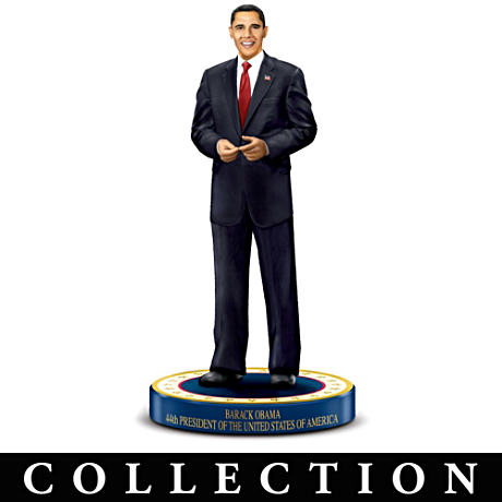 Limited-Edition Obama Presidential Portrait Figurines