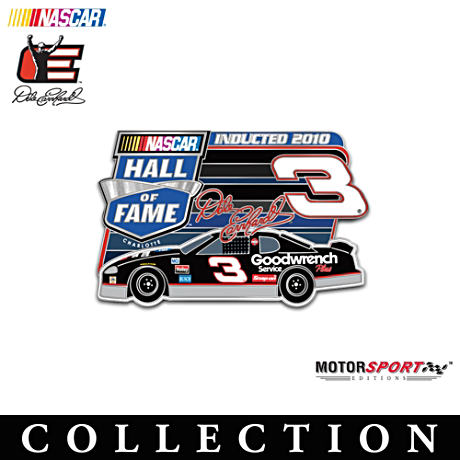 NASCAR Hall Of Fame Collector Pin Collection