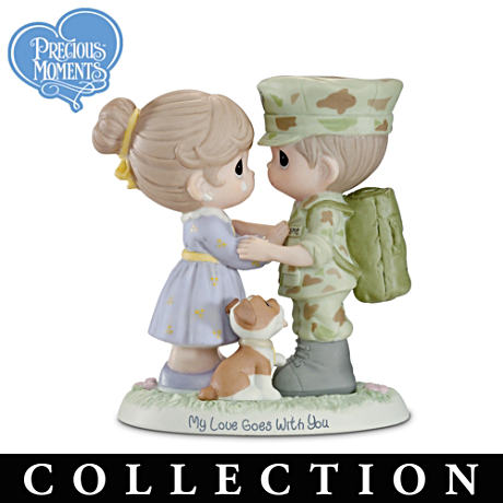 "Precious Moments ""All-American Hero"" USMC Figurines"