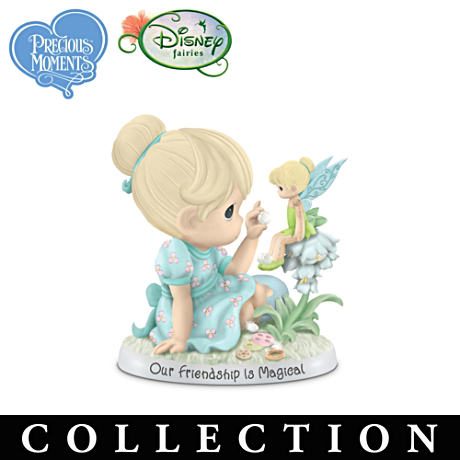 Precious Moments Disney Fairies Friendship Figurines